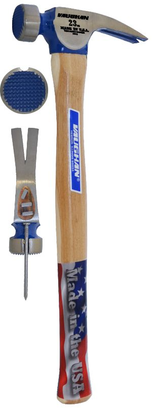 CF1  23 oz Milled Face California Framing Hammer 10300