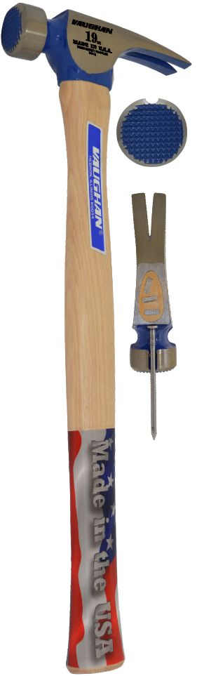 "CF2L 19 OZ Milled Face California Framer 17"" Handle 11605"