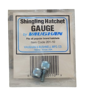 Gauge For Shingling Hatchet 20110