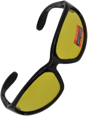 SV4300 Reflex Amber Full Frame Wrap-around Glasses 59733