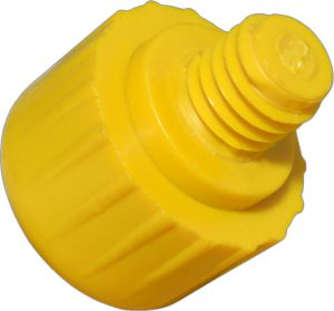125XF  1-1/4'' Extra Hard Yellow Replacement Face 58928