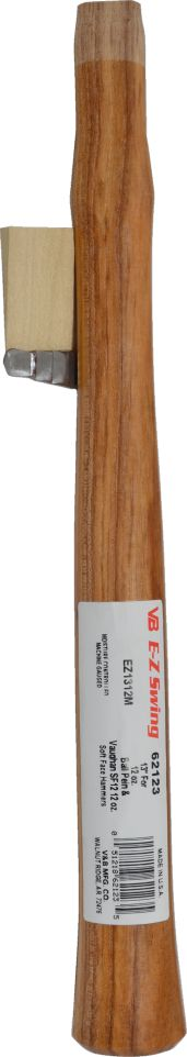 62123 E-Z Swing 13'' Hickory Handle For 12 oz. Machinist Hammer Handle 62123