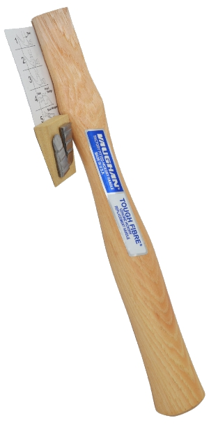 63161 Tough Fibre Hickory Handle- 16 OZ Bricklayer Hammer 63161