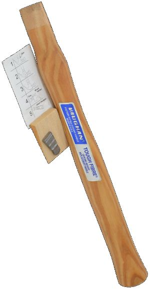 "63351 Tough Fibre 13"" Hickory Handle For 12 OZ Machinist Hammer 63351"
