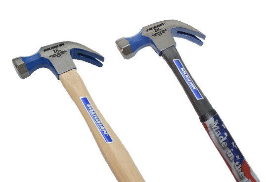 Curved Claw Hammers - Tubular